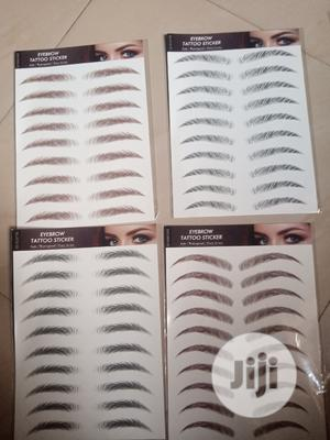 Tattoo Eyebrow Sticker | Makeup for sale in Lagos State, Yaba