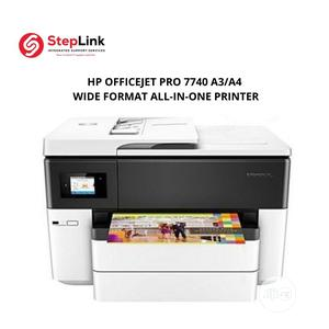 HP Officejet PRO 7740 A3/A4 Wide Format All-In-One Printer | Printers & Scanners for sale in Lagos State, Lekki