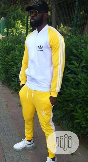 Unisex Addidas Design Track Suit   Clothing for sale in Lagos State, Amuwo-Odofin