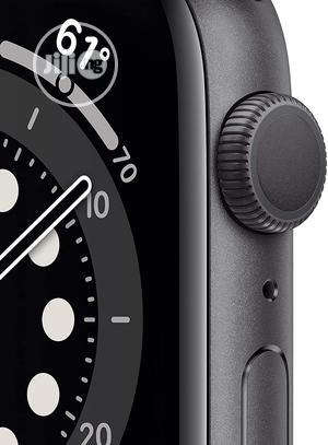 Apple Watch Series 6 (GPS, 44mm) - Space Gray Aluminum Case | Smart Watches & Trackers for sale in Lagos State, Ikeja