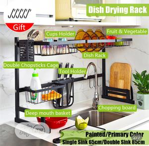 Over the Sink Drain Rack; Plate Rack;Kitchen Shelf Organizer | Home Accessories for sale in Lagos State, Maryland