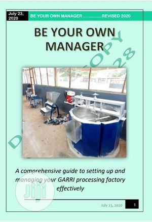 BE YOUR OWN MANAGER (E-book) On Garri Processing Setup   Books & Games for sale in Lagos State, Ajah