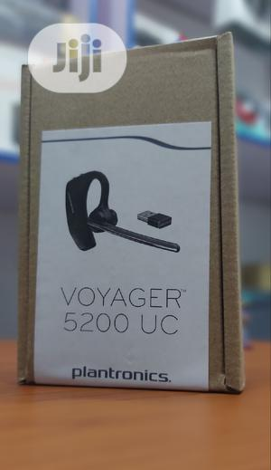Plantronics Voyager 5200 UC Bluetooth Headset for Phone PC | Headphones for sale in Lagos State, Ikeja