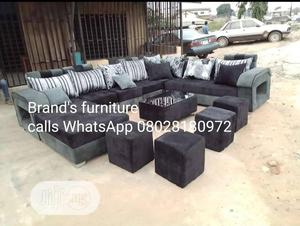 U-Shap Complete Set of Sofa With Center Table | Furniture for sale in Lagos State, Ikeja