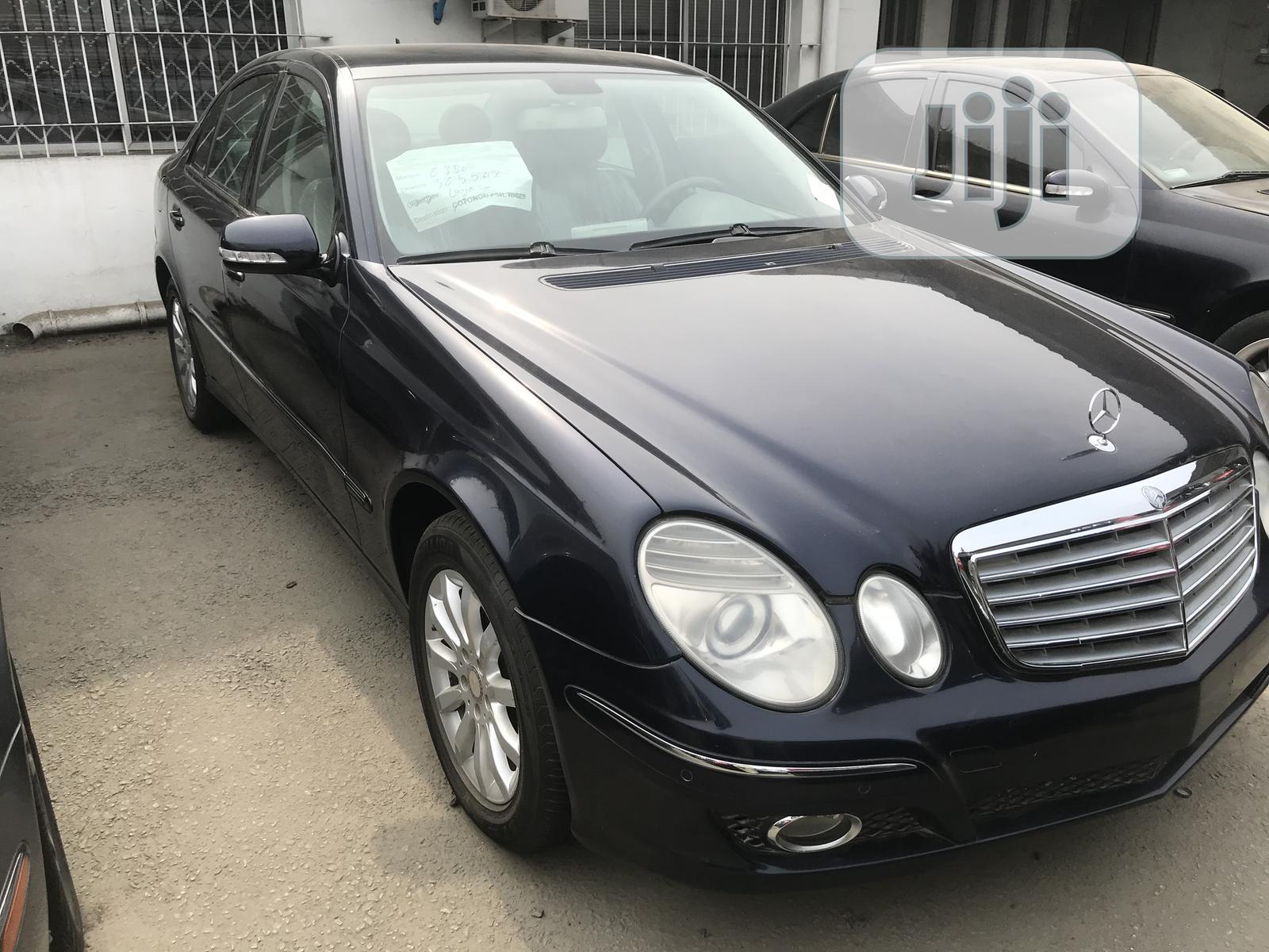 Archive: Mercedes-Benz E350 2009 Black