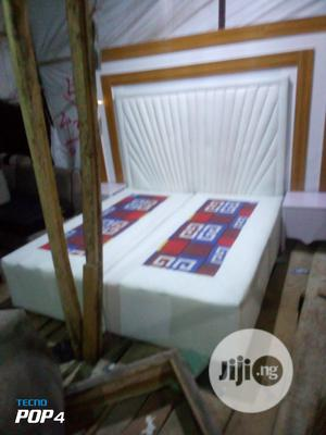 A Well Made Design Leather Bed | Furniture for sale in Lagos State, Ajah