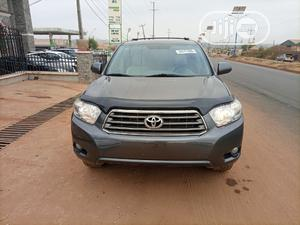 Toyota Highlander 2008 Limited 4x4 Gray | Cars for sale in Kwara State, Ilorin West