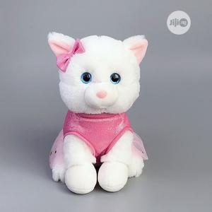 25cm Cute Little Kitty Stuffed Cat Plush Teddy Toy Doll   Toys for sale in Lagos State, Ikeja