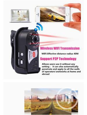 Mini P2P Wifi IP Camera HD DVR Hidden Spy Video Recorder   Security & Surveillance for sale in Lagos State, Ikeja