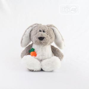 30cm Cute Grey Bunny Stuffed Rabbit Plush Teddy Toy Doll   Toys for sale in Lagos State, Ikeja