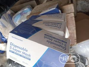 Black / White 3ply Face Mask   Safetywear & Equipment for sale in Lagos State, Alimosho