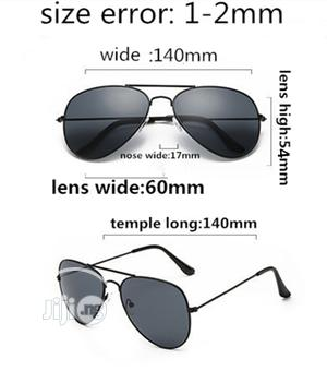 Aviator Unisex Stylish Sunglasses - Black | Clothing Accessories for sale in Lagos State, Ikeja