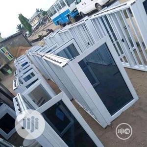 Aluminum Windows With Burglary and Net | Windows for sale in Lagos State, Amuwo-Odofin
