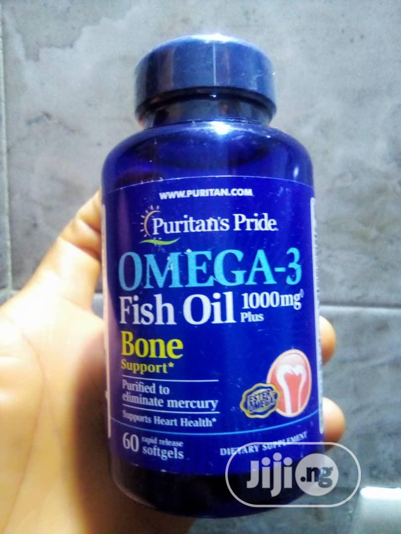 Omega-3 Fish Oil Bone Support