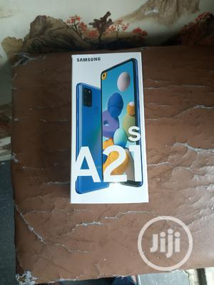 New Samsung Galaxy A21s 64 GB Blue   Mobile Phones for sale in Lagos State, Ikeja