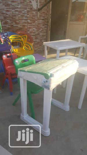 Plastic Student Desk With Chair | Children's Furniture for sale in Abuja (FCT) State, Gwarinpa