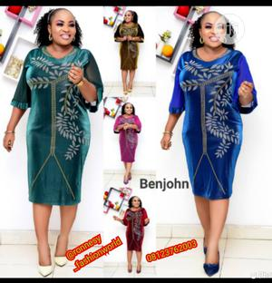 New Female Quality Turkey Fitted Gown | Clothing for sale in Lagos State, Ikeja