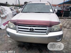 Toyota Highlander 2004 Silver   Cars for sale in Lagos State, Lekki