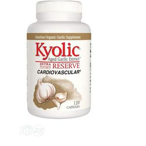 Kyolic Aged Garlic Extract Reserve Cardiovascular 120 Capsul | Vitamins & Supplements for sale in Lagos State, Amuwo-Odofin