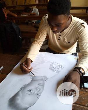 Pencil Portrait Drawing | Other Services for sale in Anambra State, Awka