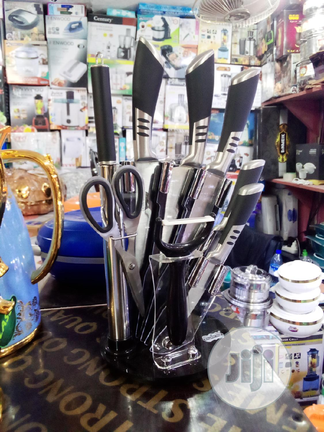 9 Pcs Knife Set | Kitchen & Dining for sale in Yaba, Lagos State, Nigeria