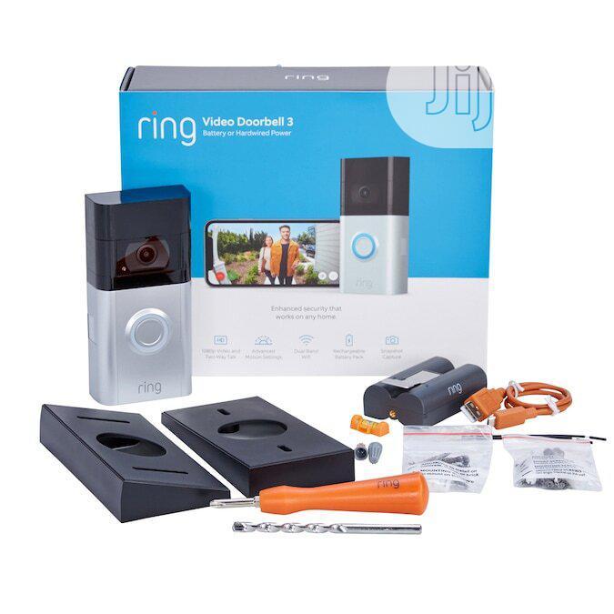 Ring Video Doorbell 3 (Satin Nickel)