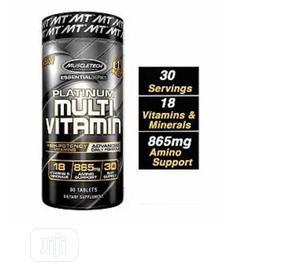 Muscle Tech Multivitamin 18 Vitamins a C D E B6 B   Vitamins & Supplements for sale in Lagos State, Amuwo-Odofin