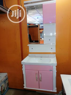 Cabinet Basin With Cabinet Mirror | Furniture for sale in Lagos State, Orile