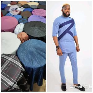 4 Yards Senator Material 1   Clothing for sale in Lagos State, Lagos Island (Eko)