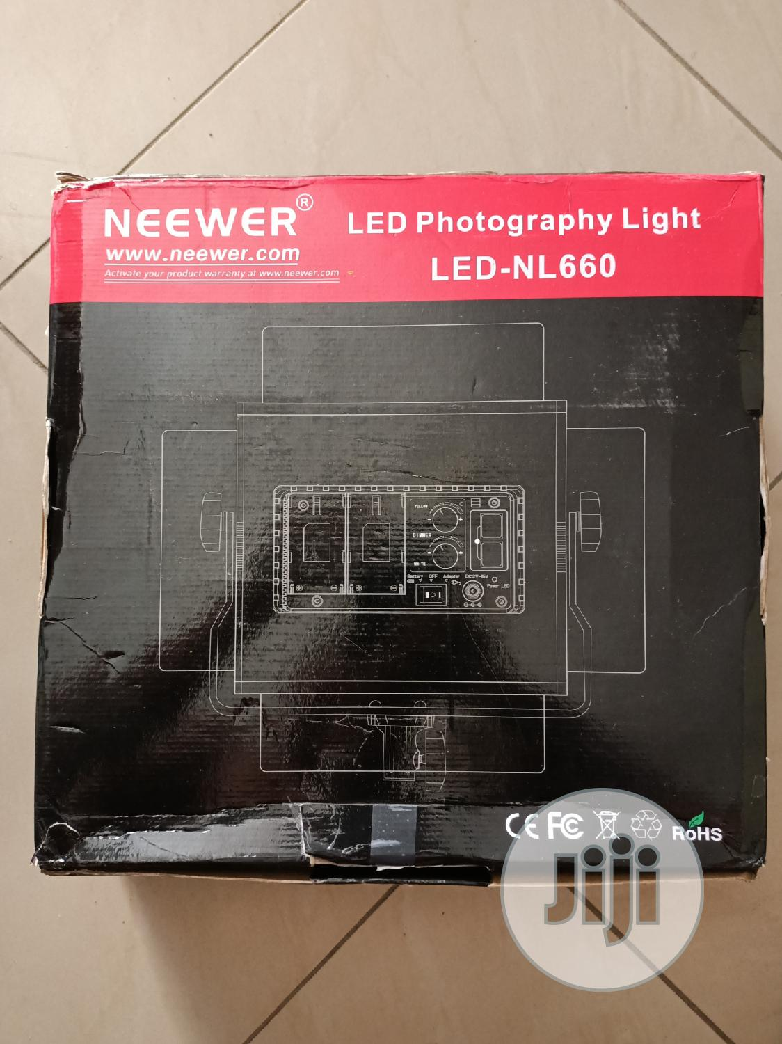Neewer Advanced 2.4G LED Video Light NL660   Stage Lighting & Effects for sale in Ikeja, Lagos State, Nigeria