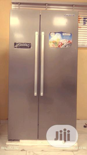 Polystar Double Door Refrigerator | Kitchen Appliances for sale in Lagos State, Amuwo-Odofin