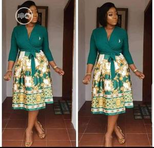 Flowered Flare Dress. | Clothing for sale in Lagos State, Ikeja