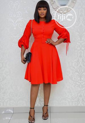 Simple Female Flare Dress. | Clothing for sale in Lagos State, Ikeja