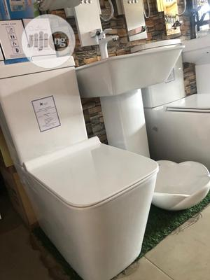Toilet Seat (W.C ) And Sink. | Plumbing & Water Supply for sale in Lagos State, Ojo