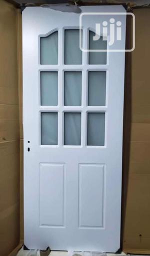 Wooden Door With Glass | Doors for sale in Lagos State, Victoria Island