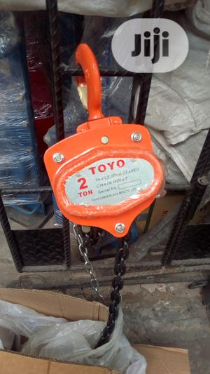 Manual Chain Block 2 Tonnes | Manufacturing Equipment for sale in Lagos State, Ojo