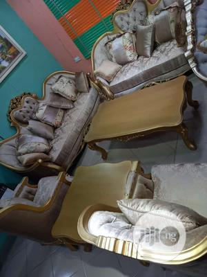 Royal Turkey Sofa Chair. With Center Table | Furniture for sale in Lagos State, Ojo