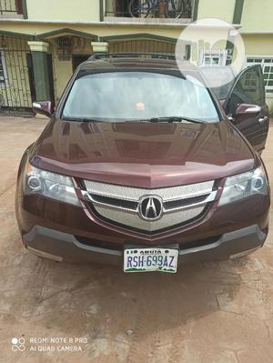 Acura MDX 2009 SUV 4dr AWD (3.7 6cyl 5A) Red | Cars for sale in Edo State, Benin City
