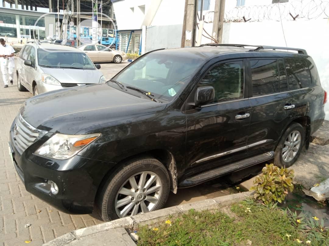 Lexus LX 2009 570 Black | Cars for sale in Victoria Island, Lagos State, Nigeria