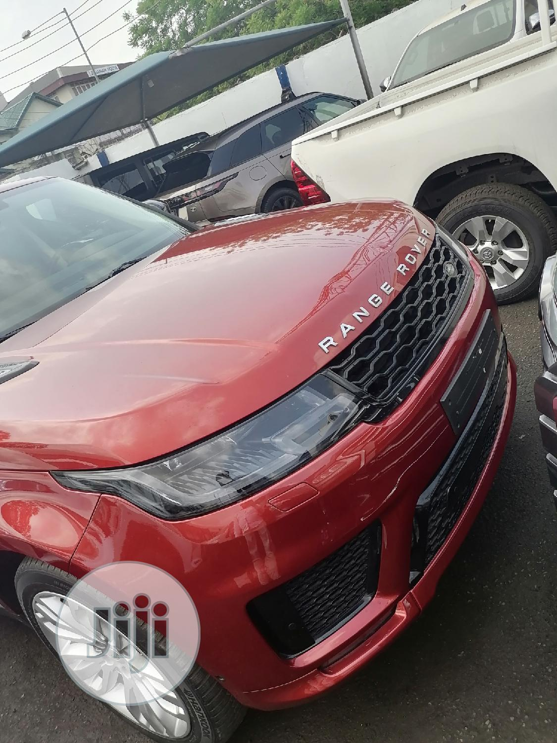Archive: Land Rover Range Rover Sport 2015 Red