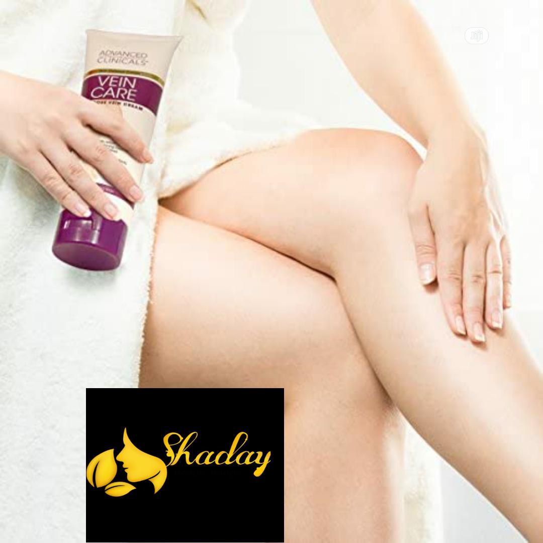Advanced Clinicals Vein Care Varicose Vein Cream 237ml | Skin Care for sale in Alimosho, Lagos State, Nigeria