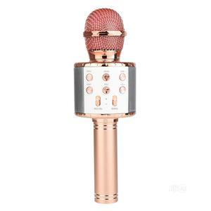 Karaoke Microphone Bluetooth Wireless Speaker   Audio & Music Equipment for sale in Imo State, Owerri