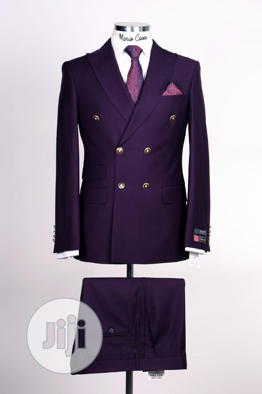 Turkish Double Breasted Suit for Men