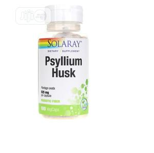 Solaray Psyllium Husk 525 Mg 100 Veg Capsules | Vitamins & Supplements for sale in Lagos State, Amuwo-Odofin