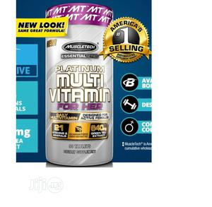 Muscle Tech Essential Series Platinum Multi Vitamin Tablets   Vitamins & Supplements for sale in Lagos State, Amuwo-Odofin