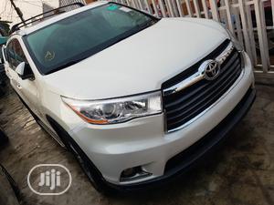 Toyota Highlander 2014 White | Cars for sale in Lagos State, Ifako-Ijaiye