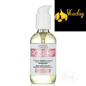Advanced Clinicals Rosehip Anti Aging Body Oil 112ml   Skin Care for sale in Lagos State, Alimosho