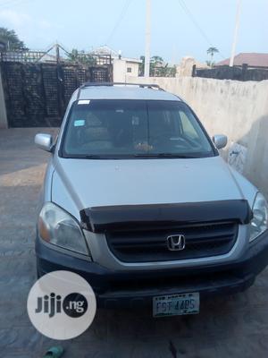 Honda Pilot 2004 EX 4x4 (3.5L 6cyl 5A) Silver   Cars for sale in Ogun State, Ado-Odo/Ota