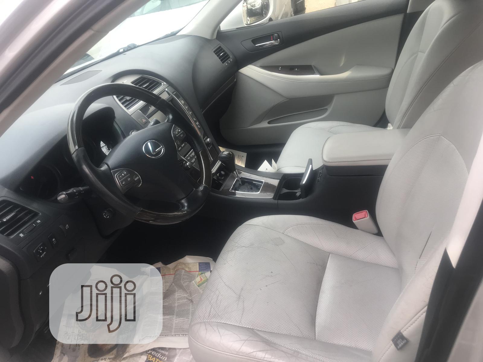 Lexus ES 2012 350 Silver | Cars for sale in Ikeja, Lagos State, Nigeria