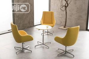 Yellow Adjustable Visitors Lounge Chair   Furniture for sale in Lagos State, Maryland
